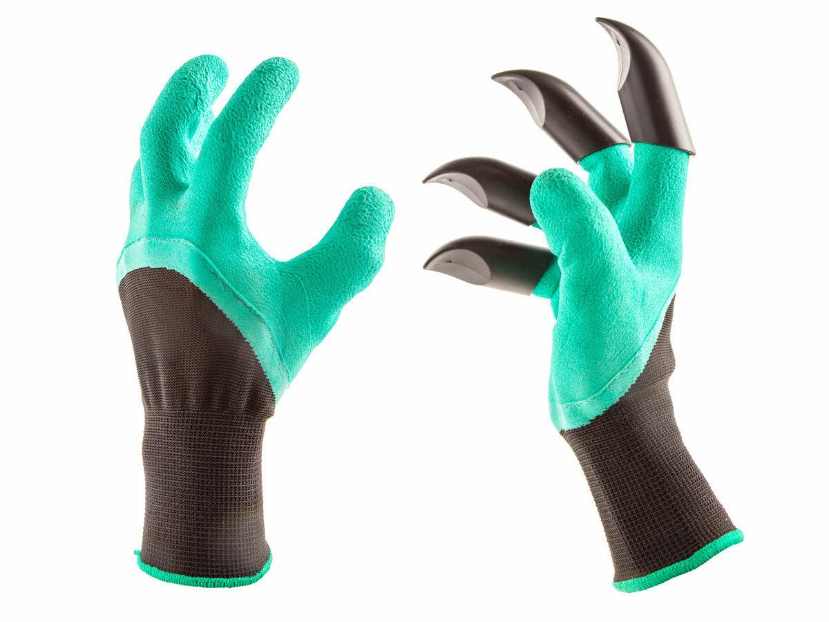Перчатка для работы в саду и огороде Garden Genie Gloves в Кызыле