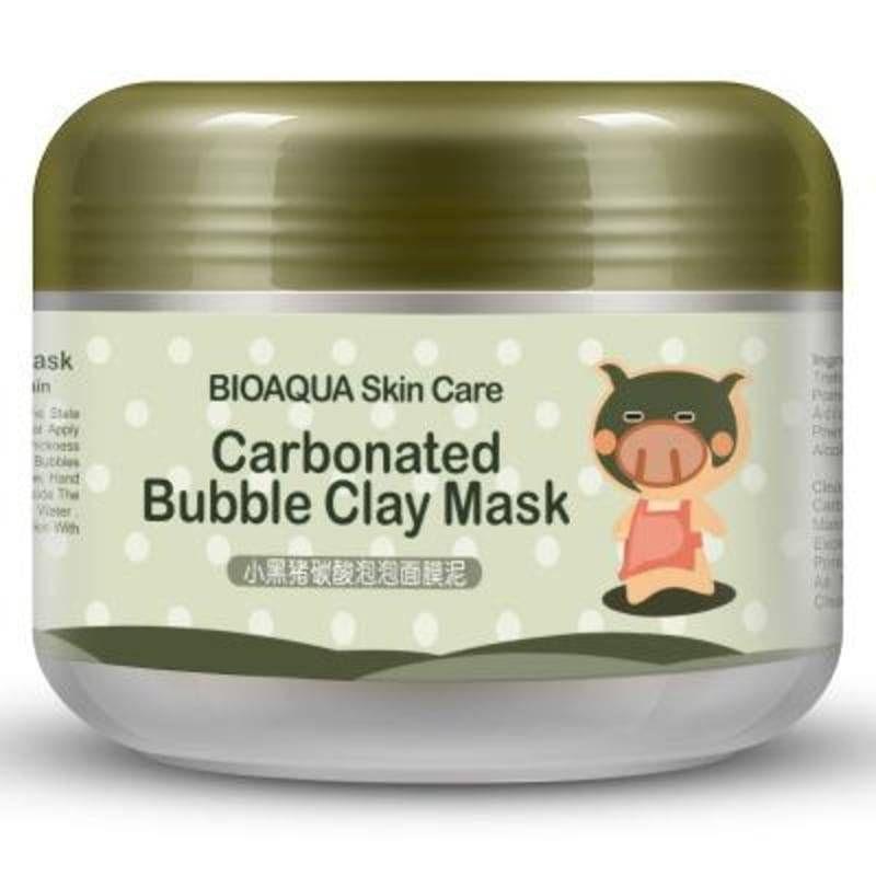 Отзывы Биоаква . Очищающая глиняно-пузырьковая маска для лица Bioaqua Carbonated Bubble Clay Mask