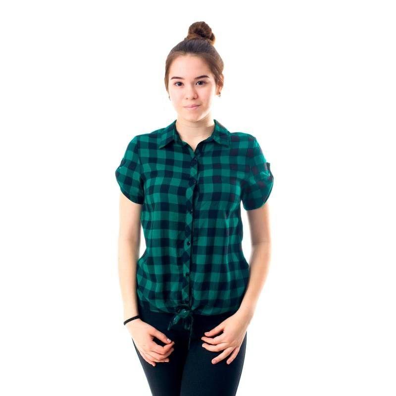 8dc14f45b05a7d8 Рубашка в клетку - KazanExpress